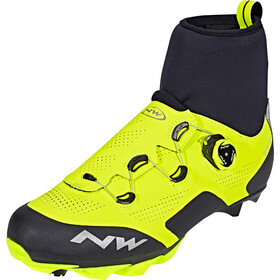 Northwave Raptor GTX schoenen Heren, yellow fluo/black